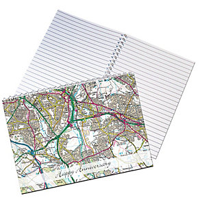 Present Day Map Notebook - Product number 1447831