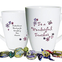 Personalised Wonderful Teacher Mug - Product number 1447971