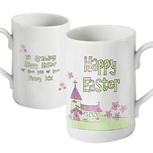 Personalised Whimsical Church Easter Mug - Product number 1448013