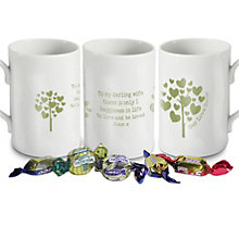 Personalised Love Grows Mug - Green - Product number 1448102