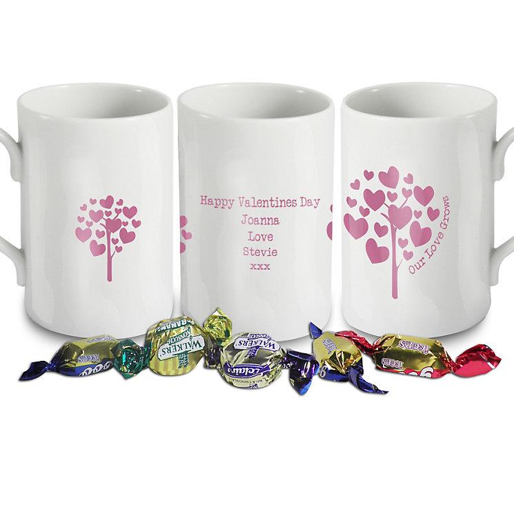 Personalised Love Grows Mug - Pink - Product number 1448110