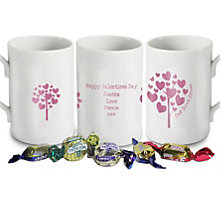Personalised Love Grows Mug - Pink - Product number 1448110