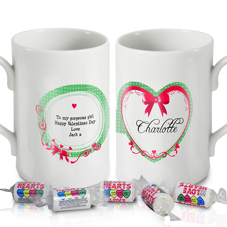 Personalised Red Ribbon Mug - Product number 1448153
