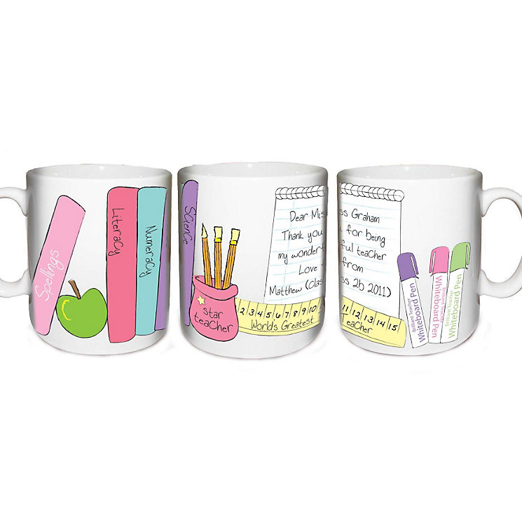 Personalised Her Teachers Desk Mug - Product number 1448315
