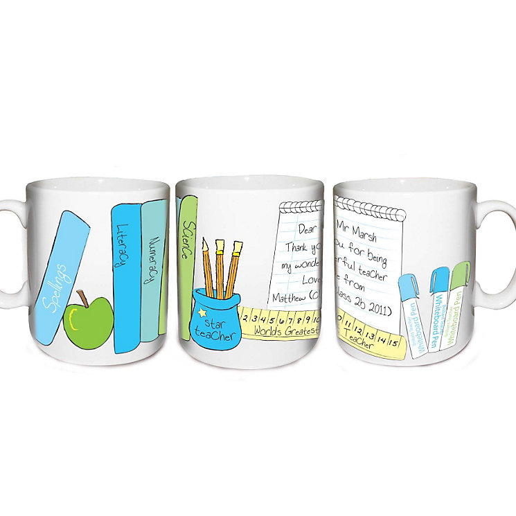 Personalised Him Teachers Desk Mug - Product number 1448323