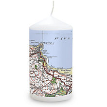 Personalised 1919 - 1926 Popular Edition Map Candle - Product number 1448455