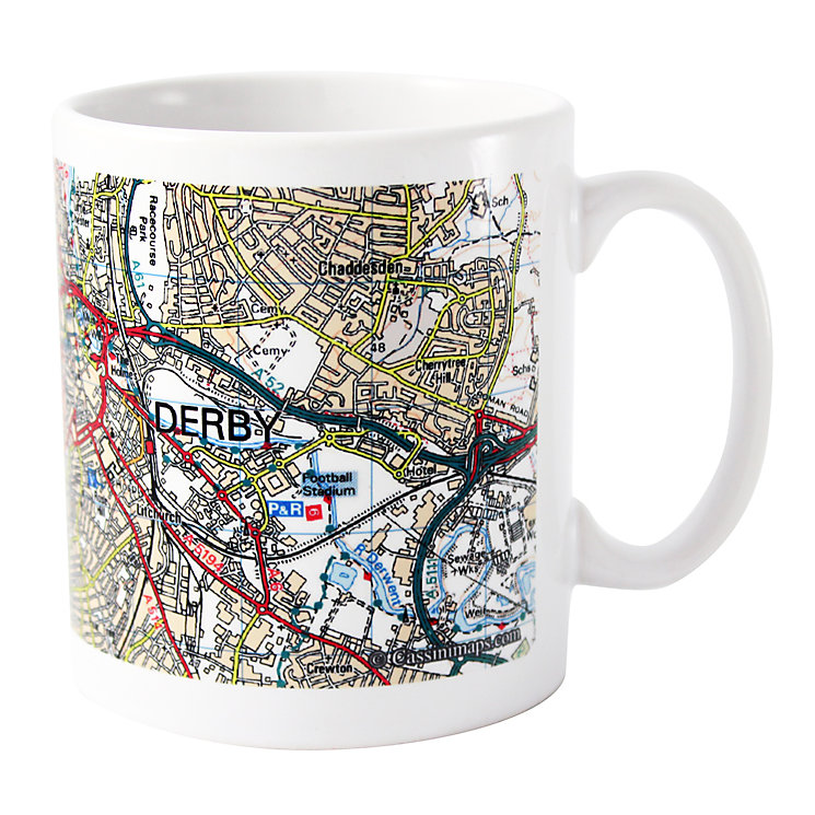 Present Day Edition Map Mug - Product number 1448587