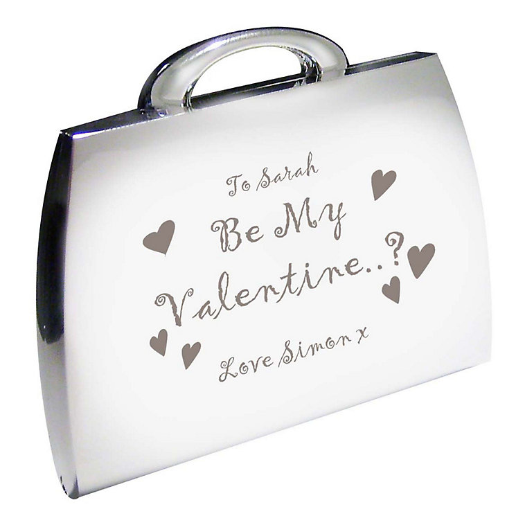 Engraved Be My Valentine Handbag Compact - Product number 1448617