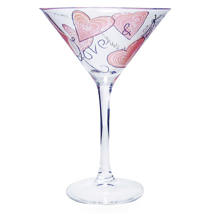 Personalised Love And Kisses Cocktail Glass - Product number 1448838