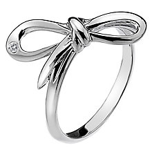 Hot Diamonds Flourish Sterling Silver Ring Size N - Product number 1449273
