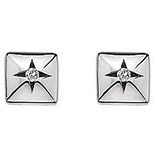 Hot Diamonds Affine Sterling Silver Diamond Stud Earrings - Product number 1449362