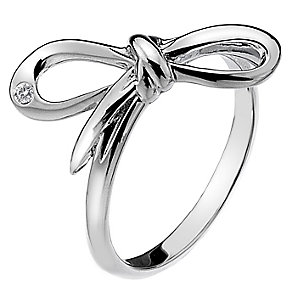 Hot Diamonds Flourish Sterling Silver Ring Size L - Product number 1449427