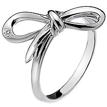 Hot Diamonds Flourish Sterling Silver Ring Size P - Product number 1449435
