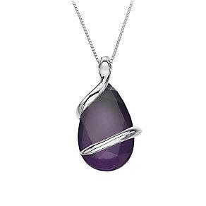 Hot Diamonds Veleno Sterling Silver Fantasy Drop Pendant - Product number 1449567
