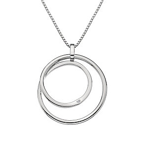 Hot Diamonds Sterling Silver Diamond Forever Circle Pendant - Product number 1449605