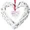 Personalised Home Sweet Home Wicker Heart Decoration - Product number 1449958