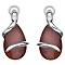 Hot Diamonds Veleno Sterling Silver Fire Drop Earrings - Product number 1450026