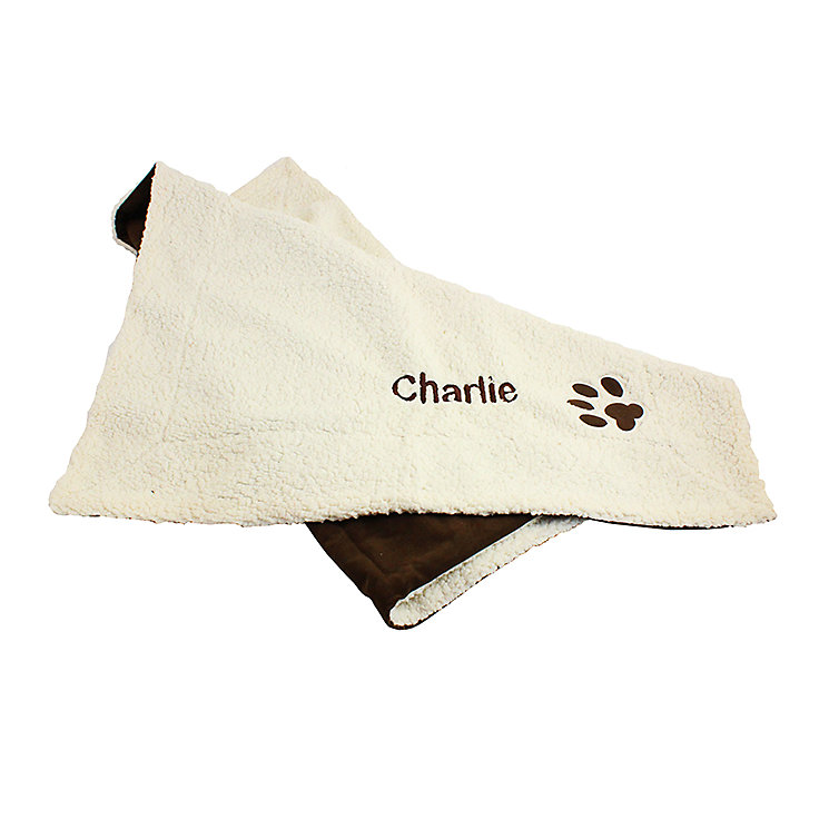 Personalised Luxury Dog Blanket - Product number 1450395