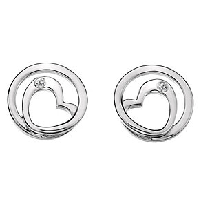 Hot Diamonds Sterling Silver Diamond Forever Stud Earrings - Product number 1450468