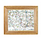 Personalised Present Postcode Map 10x8 Frame - Product number 1450565