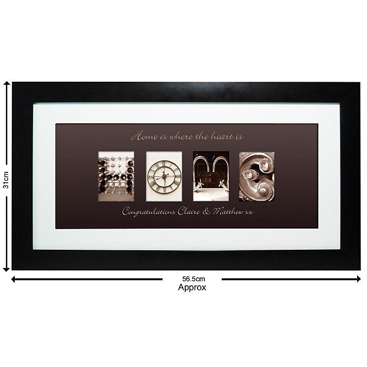 Personalised Affection Art Home Frame - Product number 1450875