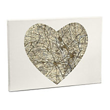 Personalised 1896 - 1904 Revised New Large Postcode Canvas - Product number 1451006