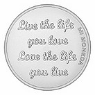 Mi Moneda Carpe Diem small silver-plated coin - Product number 1451820