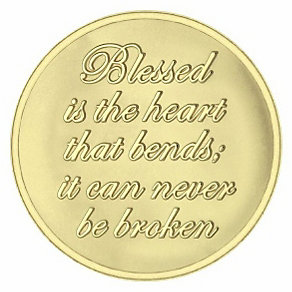 Mi Moneda small gold-plated believe coin - Product number 1451839