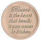 Mi Moneda medium rose gold-plated believe coin - Product number 1451847
