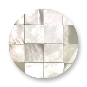 Mi Moneda Gaudi large white coin - Product number 1451898