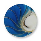 Mi Moneda Nautilus large blue shell coin - Product number 1452193