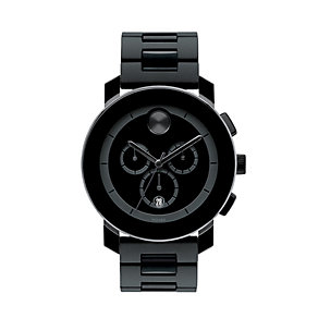 Movado Bold men's black ion-plated bracelet watch - Product number 1452312