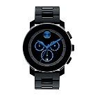 Movado Bold men's blue dot black ion-plated bracelet - Product number 1452398