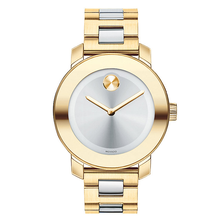 Movado Bold ladies' two colour bracelet watch - Product number 1452878