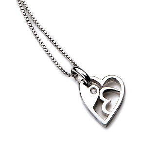 Hot Diamonds exclusive sterling silver 2013 heart pendant - Product number 1454277