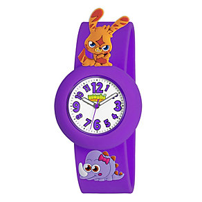 Katsuma Moshi Monsters Purple Rubber Strap Watch - Product number 1454323
