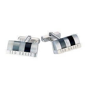 Ted Baker Sheltri black cufflinks - Product number 1454633