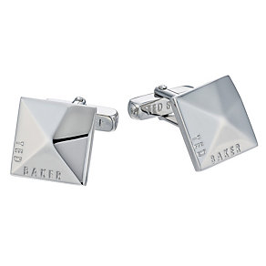 Ted Baker Cubecuf silver tone cufflinks - Product number 1454684