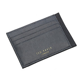 Ted Baker Harman men's grey leather card holder - Product number 1454943