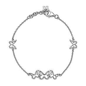 Hot Diamond Sterling Silver Butterfly Bracelet - Product number 1455753
