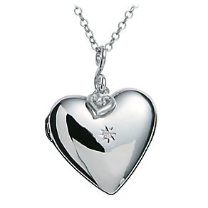 Hot Diamonds Sterling Silver Locket - Product number 1455796