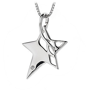 Hot Diamonds Sterling Silver Pendant - Product number 1455818