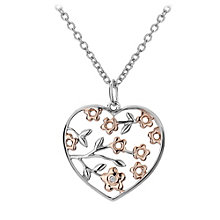 Hot Diamonds Sterling Silver Two Colour Pendant - Product number 1455834