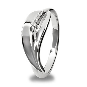 Hot Diamonds Sterling Silver Ring Size L - Product number 1456792