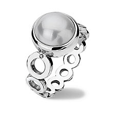 Hot Diamonds Sterling Silver Ring Size N - Product number 1457632