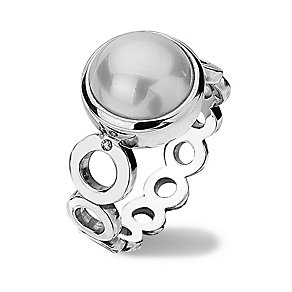 Hot Diamonds Sterling Silver Pearl Ring Size N - Product number 1457632