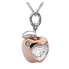 Hot Diamonds Sterling Silver Two Colour Pendant - Product number 1457721