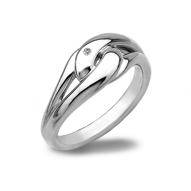 Hot Diamonds Sterling Silver Ring Size N - Product number 1457802
