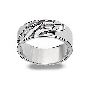 Hot Diamonds Sterling Silver Ring Size L - Product number 1457829