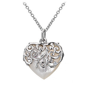 Hot Diamonds Sterling Silver Mother Of Pearl Pendant - Product number 1457918